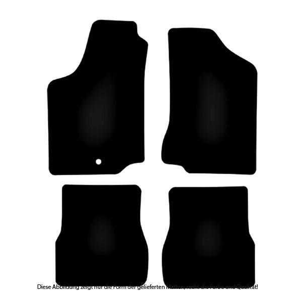 Indexbild 11 - Auto-Fußmatten Doppelnaht farbig für VW Passat 35i / 3A (B3 und B4) 1988 - 1997