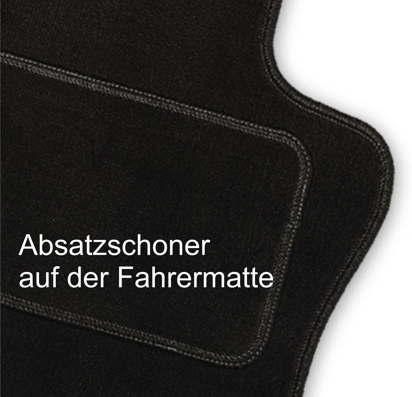 Fußmatten Logo Limited Edition Fiat 124 Spider ab 2016 Automatten Autoteppiche