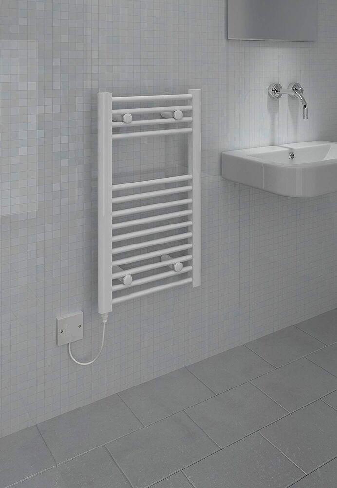 Kudox Handtuchhalter elektrisch beheizbar weiß