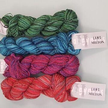 Bermuda Wolle Garn Bobbel Farbverlaufsgarn 6,90 EUR//100 g