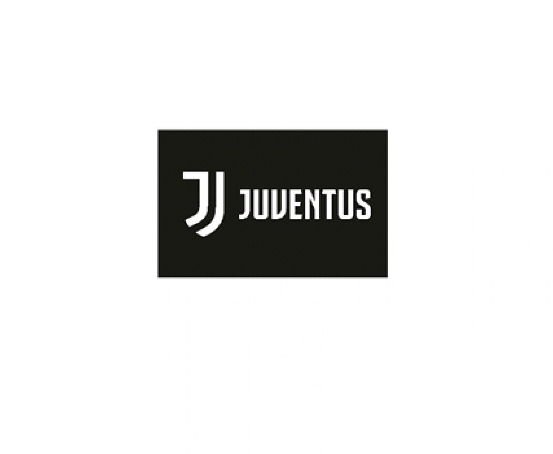 140 x 100 cm Drapeau Juventus Turin Noir
