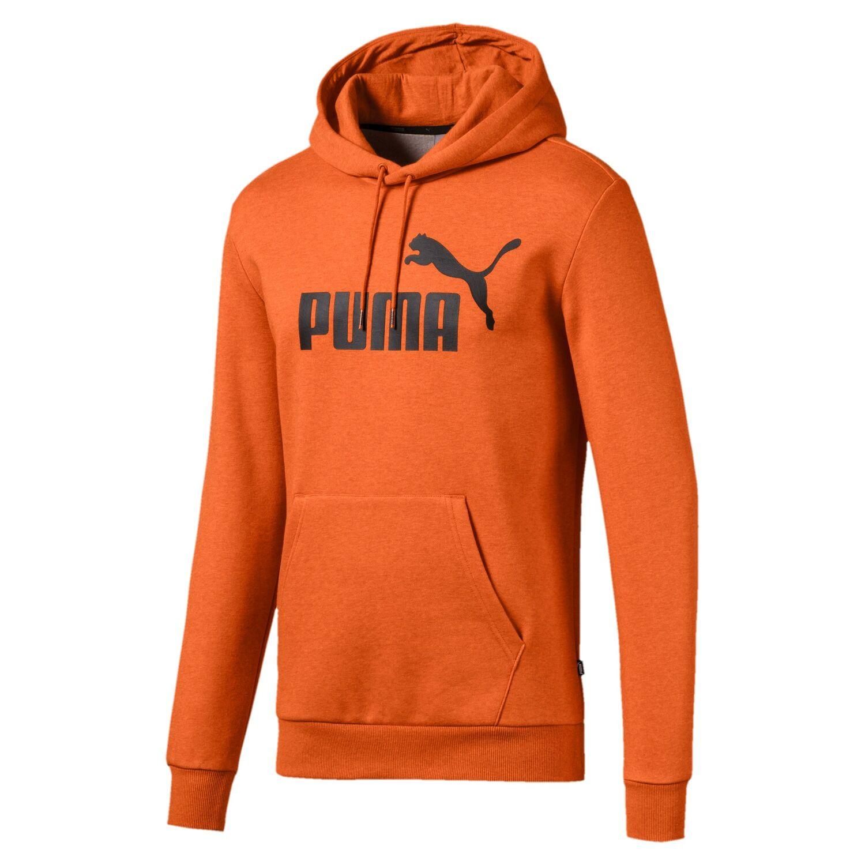 PUMA Essentials+ Hoodie FL jaffa orange heather | eBay