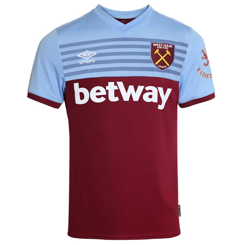 Camiseta para Hombre Umbro West Ham Home S//S