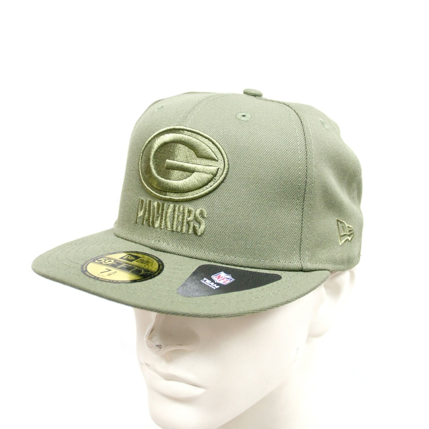 POLY Green Bay Packers oliv New Era 59Fifty Fitted Cap