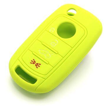 Funda clave FB LimeGreen silicona protección llaves del coche cover control remoto