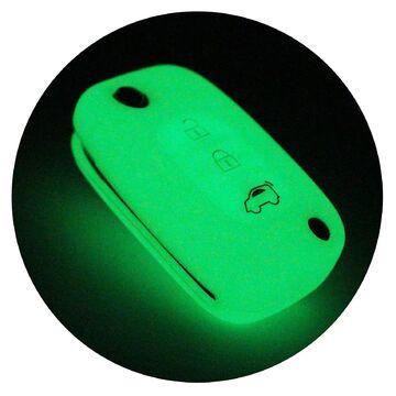 Schlüsselhülle SB Nachtleuchtend Silikonschutz Autoschlüssel Cover Fernbedienung