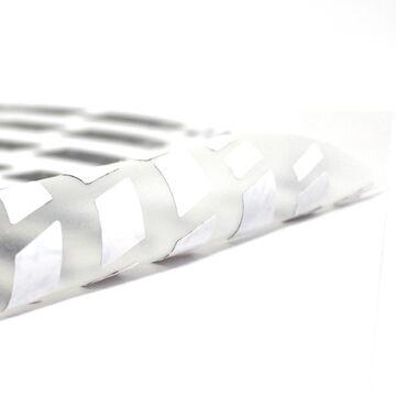Felgenrandaufkleber GP Racing Silber Metallic MATT Motorrad Aufkleber Auto