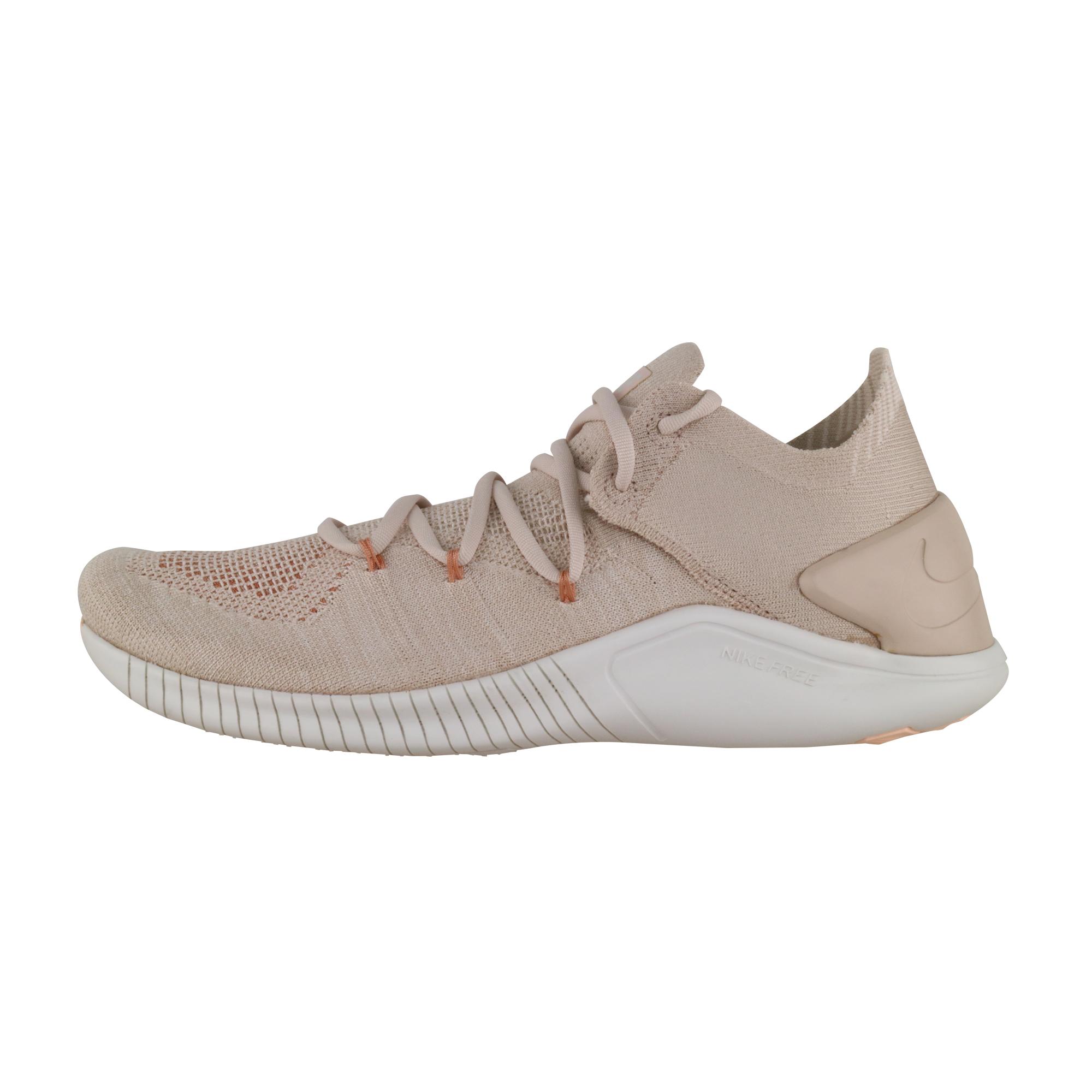Details about Nike Free Tr Flyknit 3 Femmes Beige 942887 200