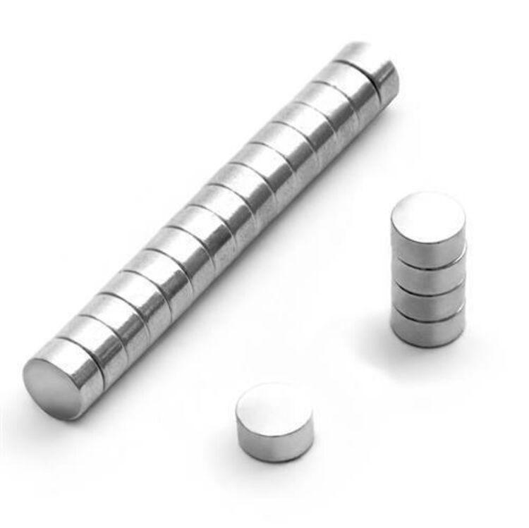 100 Stück 7 x 2 mm günstige Scheiben Magnete Neodym Blitzlieferung!!!