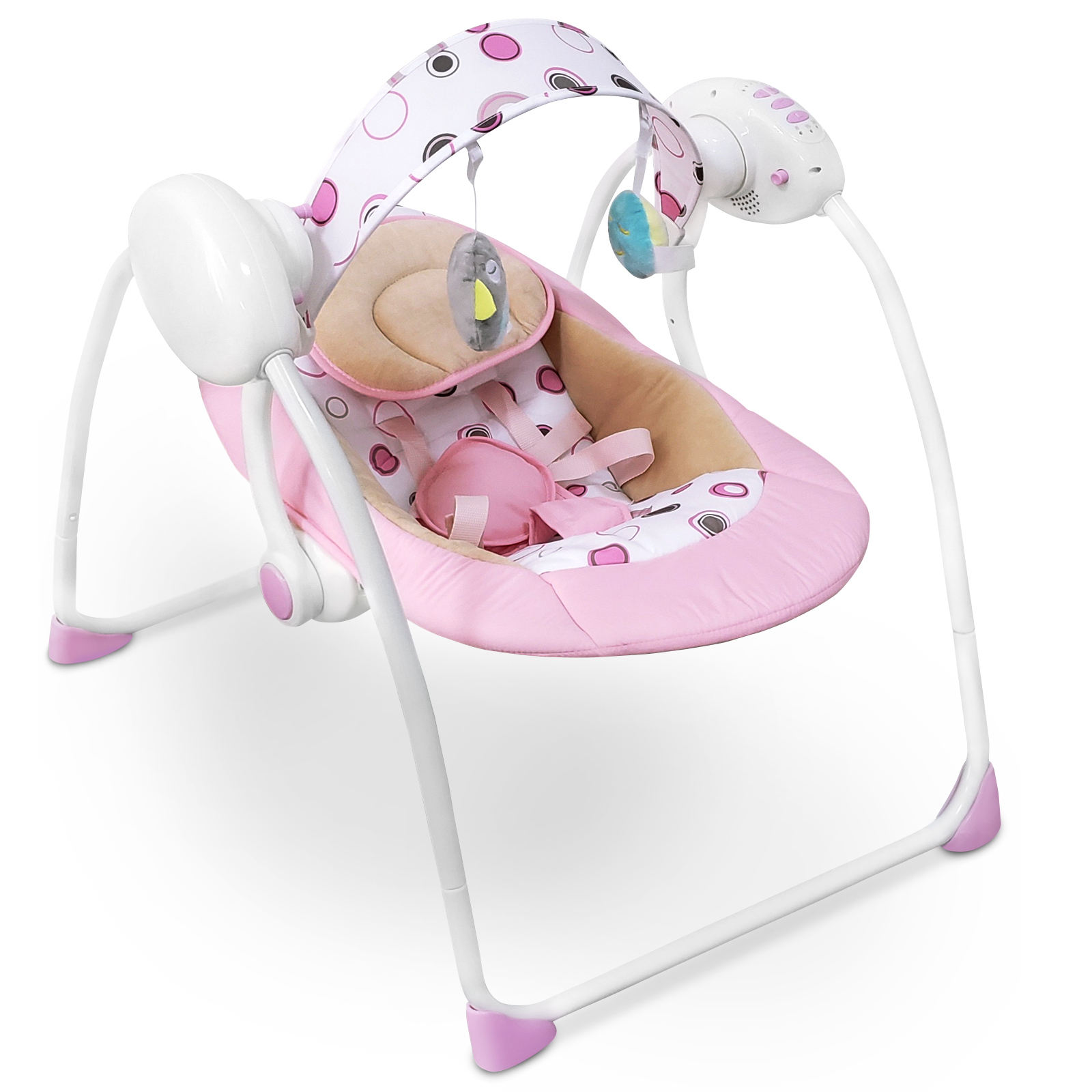Baby-Bouncer-Music-MP3-Swing-Rocking-Chair-Infant-Entertainment-Toys-U12-Months thumbnail 18