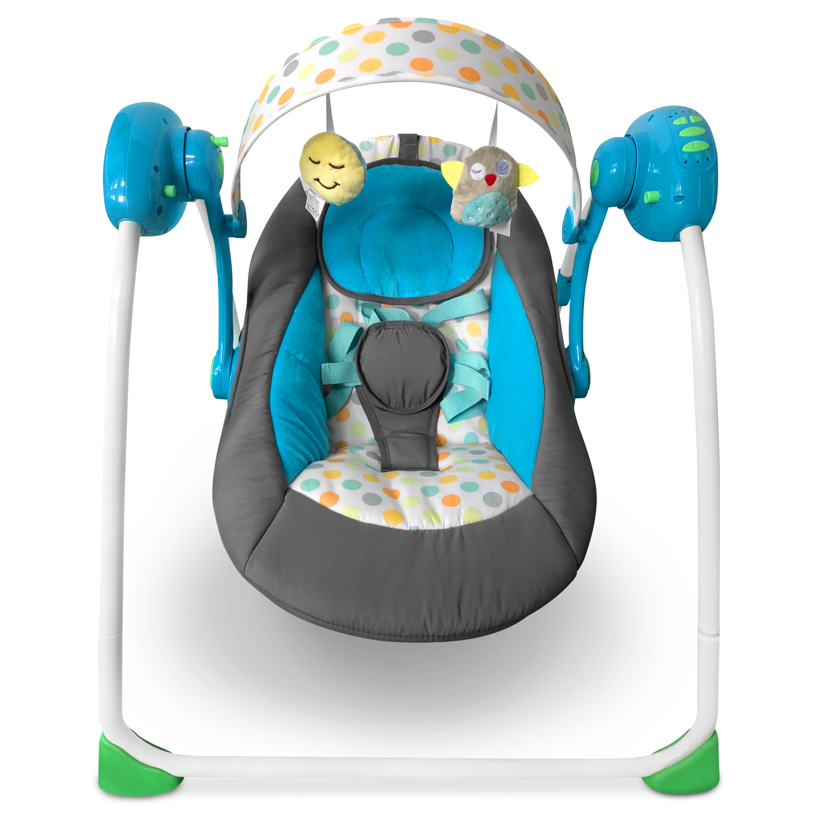 Baby-Bouncer-Music-MP3-Swing-Rocking-Chair-Infant-Entertainment-Toys-U12-Months thumbnail 10