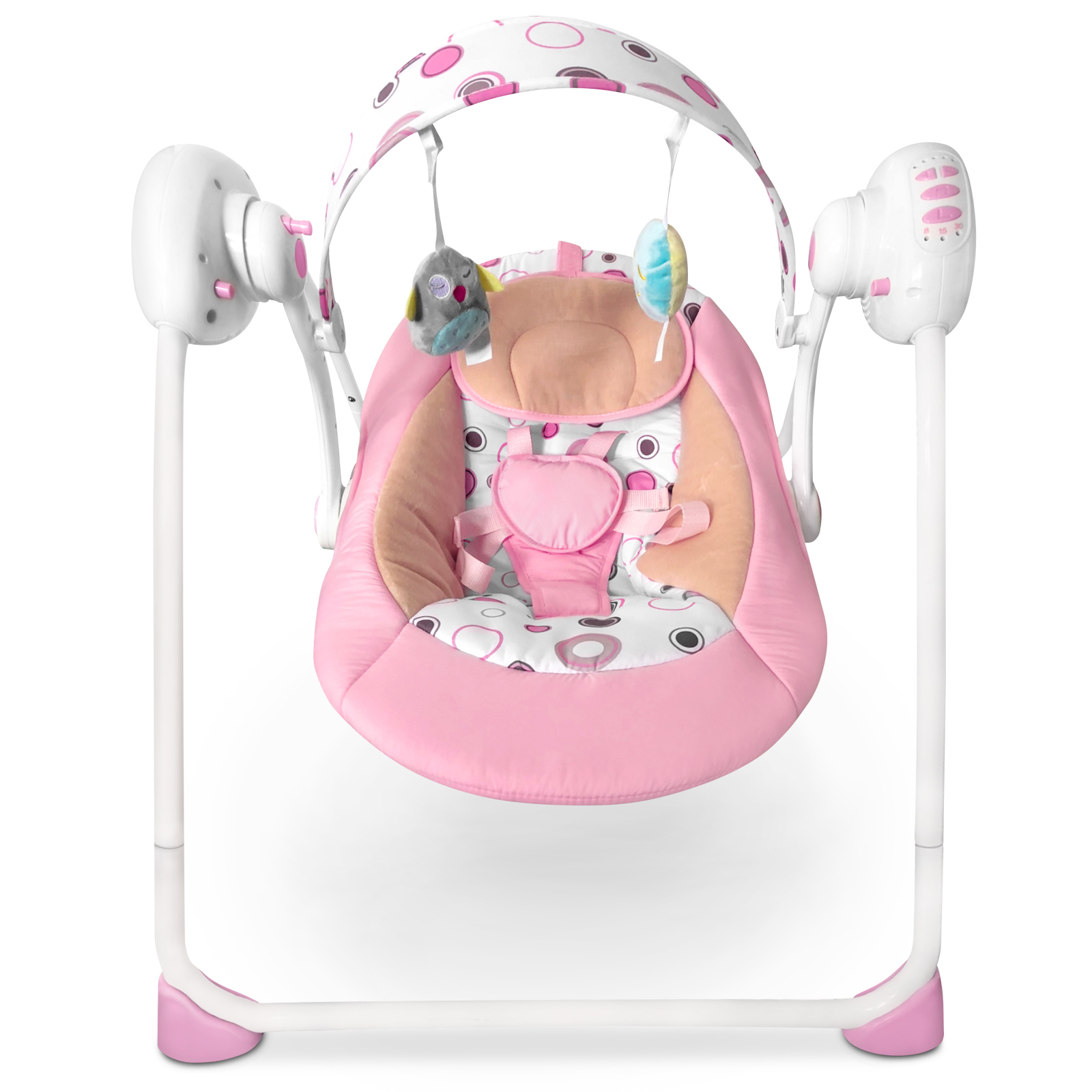 Baby-Bouncer-Music-MP3-Swing-Rocking-Chair-Infant-Entertainment-Toys-U12-Months thumbnail 14