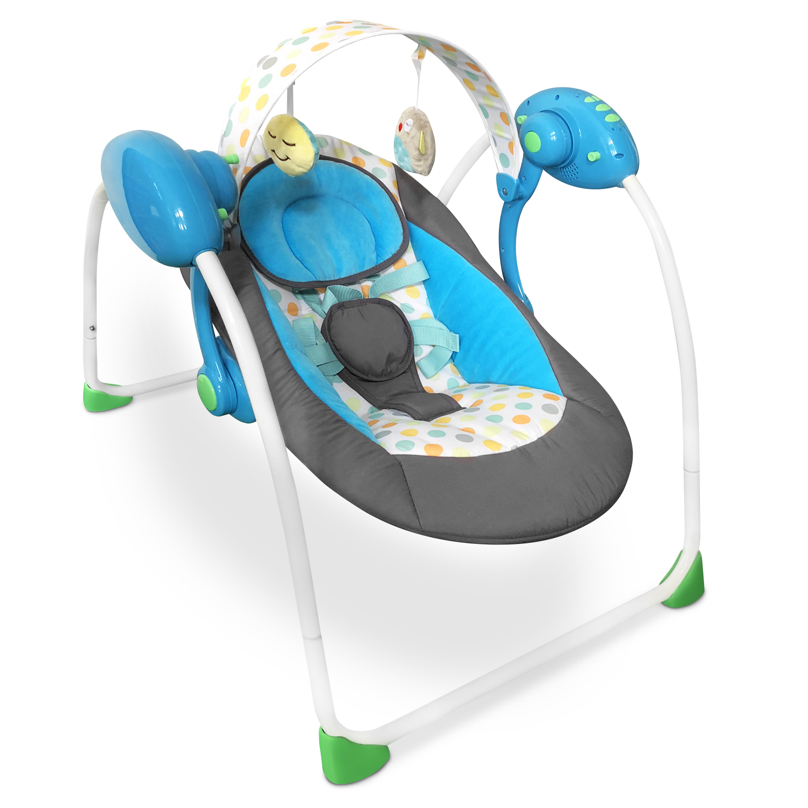 Baby-Bouncer-Music-MP3-Swing-Rocking-Chair-Infant-Entertainment-Toys-U12-Months thumbnail 9