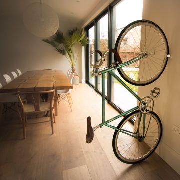 clug roadie design fahrrad wand halterung st nder f r rennrad fixie singlespeed ebay. Black Bedroom Furniture Sets. Home Design Ideas