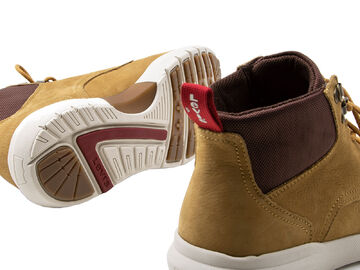 Detalles de LEVI'S Zapatos Hombre Alpine Schnür stiefel, Botines, Botas, Cuero, Hellbr