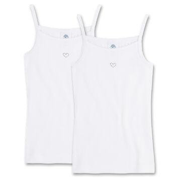 2er Pack Sanetta Girls Undershirt