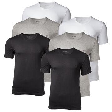 Mens White T Shirt V Neck Tee 6 Pack Plain Cotton Short Sleeve S M L XL XX Tall