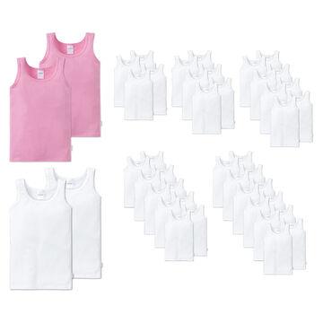 Schiesser Girls Unterhemd Undershirt Pack of 2