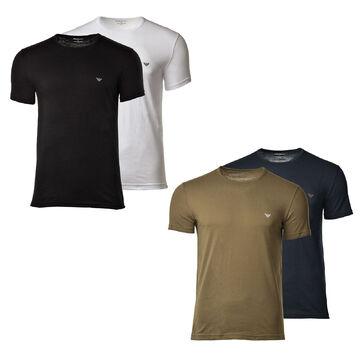 Armani About 2 Sleeve choice Of Men's neckshort Neck Shirt Details Emporio Pack Crew T jGpLzqSMVU