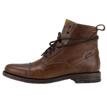 la meilleure attitude 4838e 2c278 Details about Levis Men's Leather Shoes, Emerson, Ankle Boots, Boots,  Winter Shoes - Brown