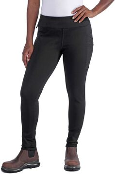 Carhartt Damen Hose Force Lightweight Utility Legging Black