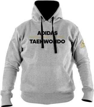 Kapuzen-Pullover adidas Hoodie Martial Arts grau//schwarz oder schwarz//weiß