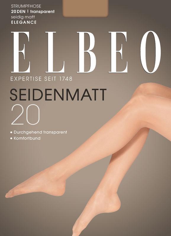 ELBEO Damen Feinstrumpfhose Transparent