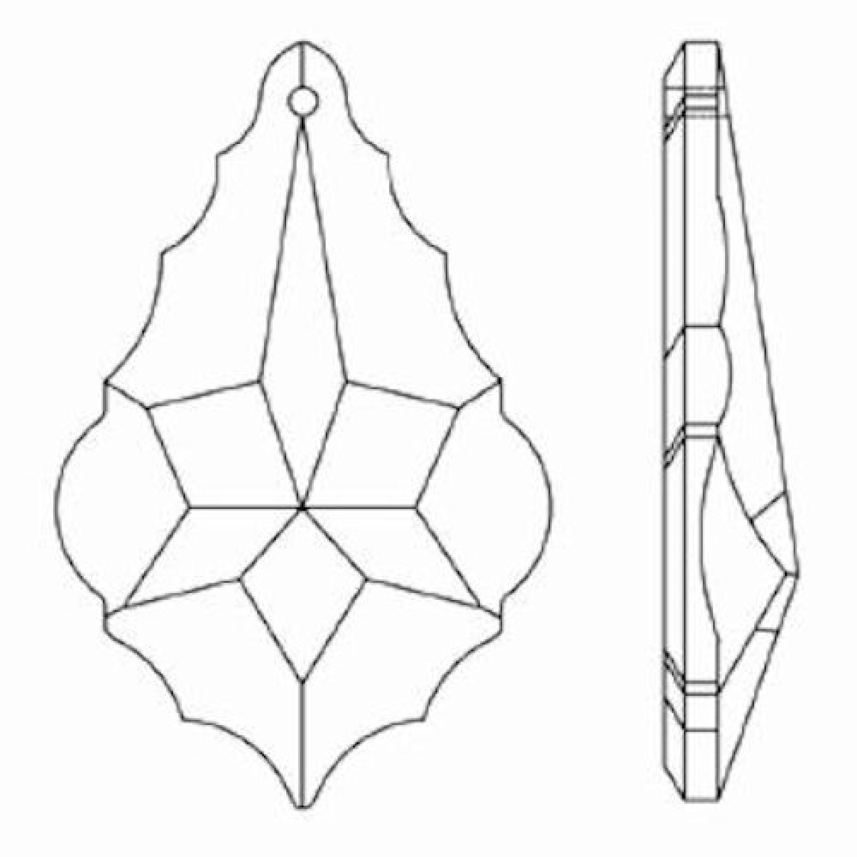 6x Regenbogenkristalle /'Venezia/' 76mm Crystal 30/%PbO ~ Kronleuchter /& Lüster