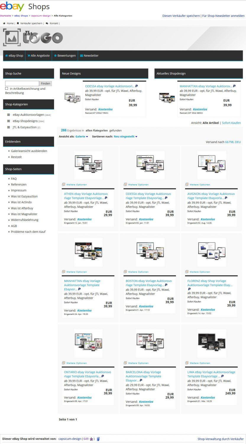 Ziemlich Ebay Auktionsvorlagen Kostenlos Fotos - Beispiel Business ...