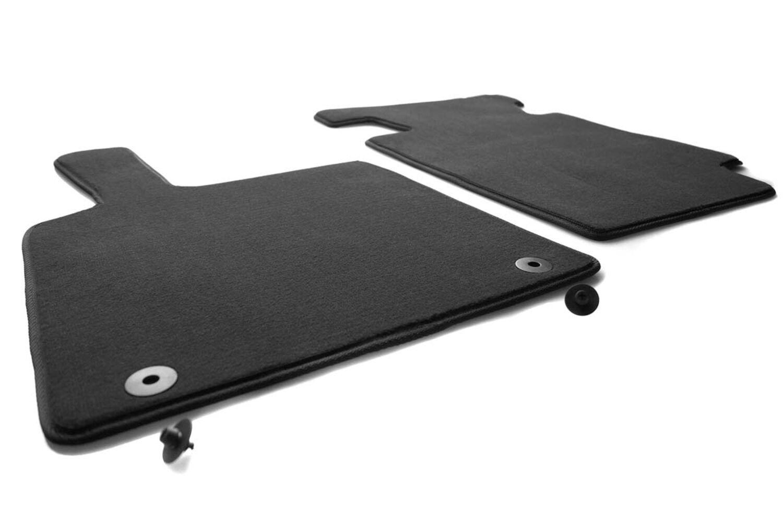 Autoteppiche Fußmatten schwarz für Smart Fortwo 451 ab Bj.2007
