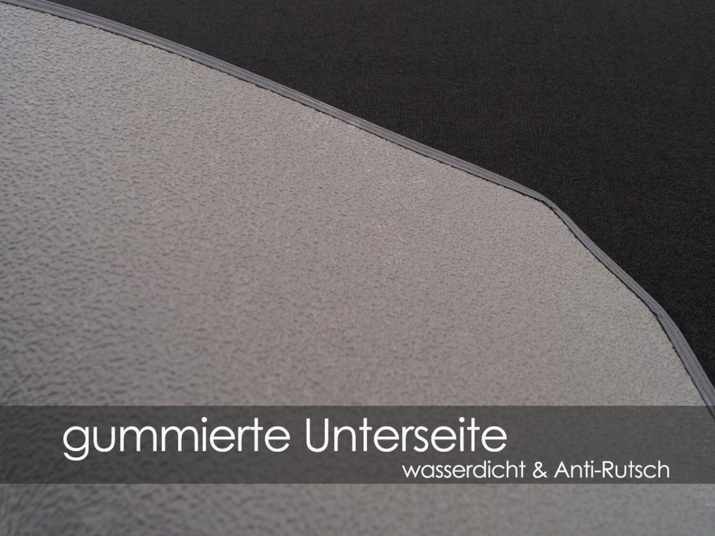 Laderaummatte Kofferraummatte für BMW 4er Grand Coupe F36 ab 11.13 Naht rot