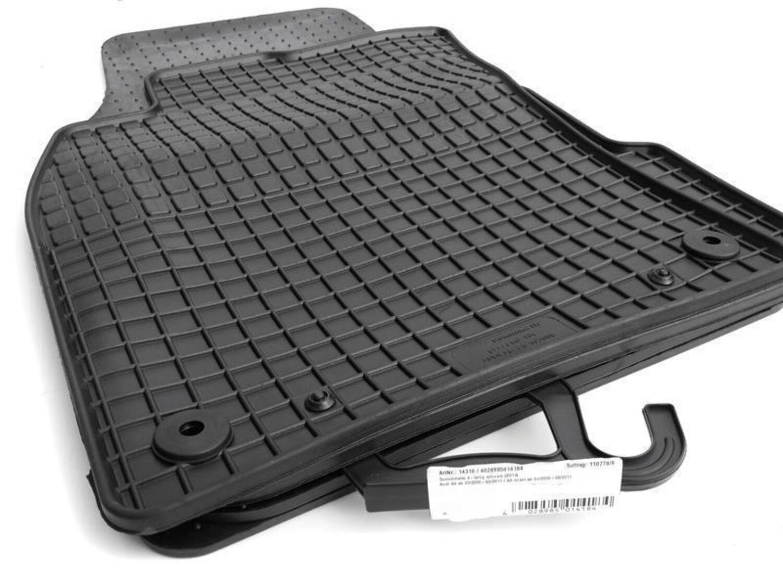 passgenau TOP Qualität AUDI A6 ab 2011 Gummifußmatten Fußmatten