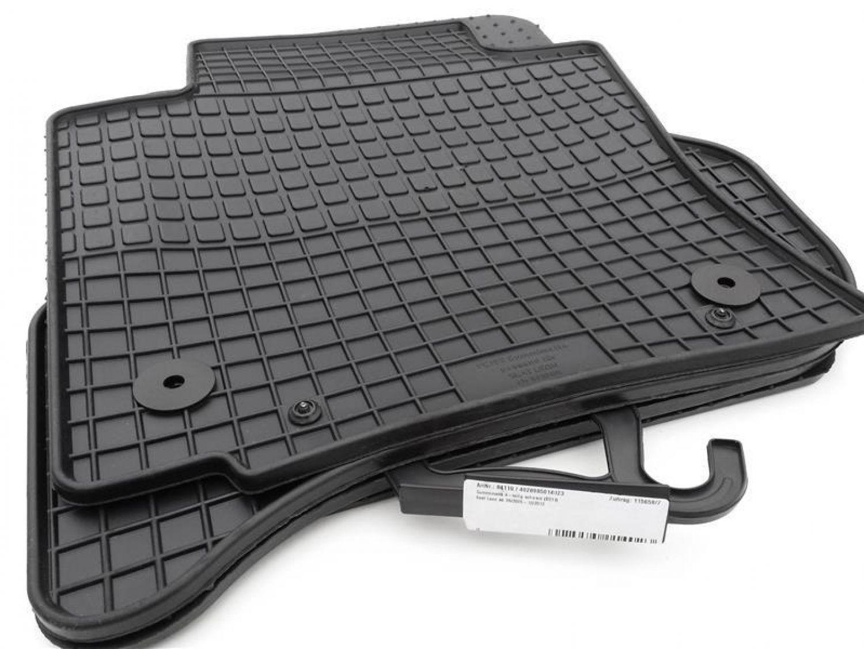 Fussmatten Stoffmatten Autoteppich für Seat Leon ab 11.2012 5F