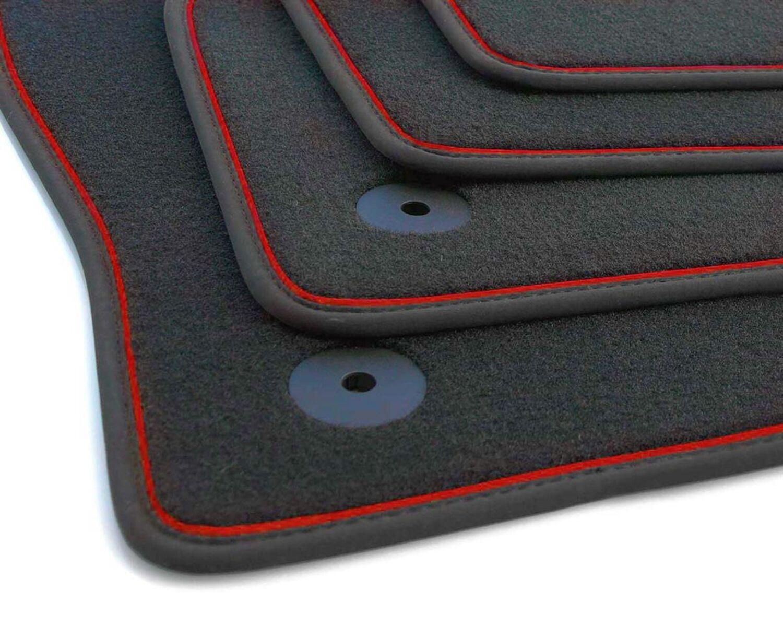 Gummifu/ßmatten passgenau geeignet f/ür Seat Arona ab 2017