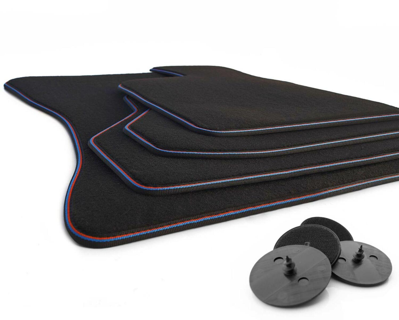 Fußmatten BMW X6 E71 Original Qualität Velours 4x Klett Automatten
