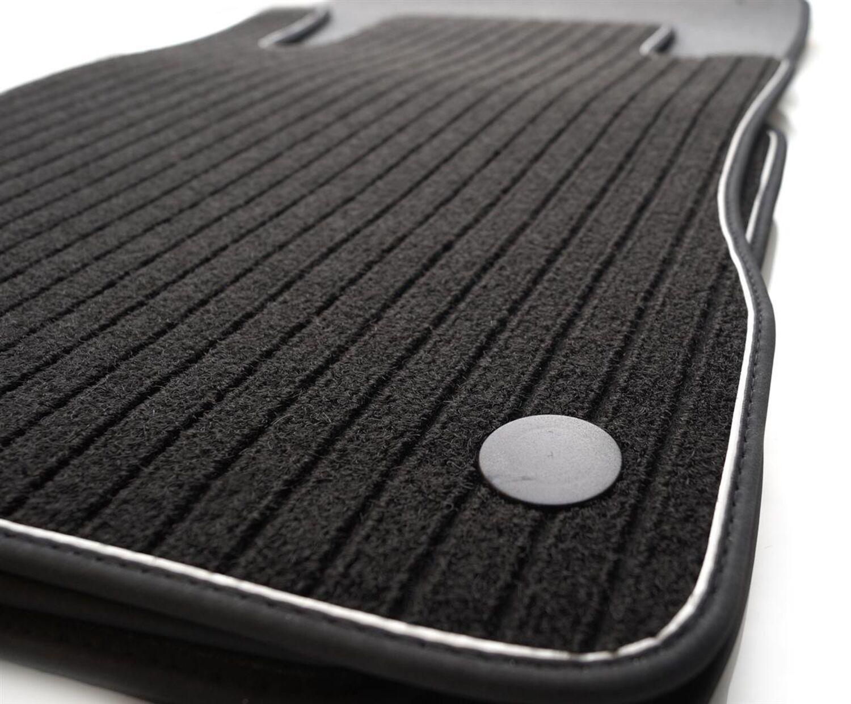 Fußmatten für Mercedes CLS C219 Original Qualität Velours Autoteppiche Matten