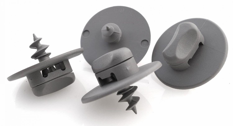 kh Teilie Fu/ßmatten//Automatten Befestigung Halter Drehverschluss oval