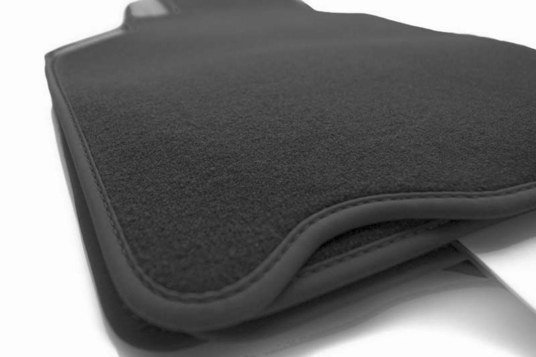 Fußmatten Porsche 911 991 Original Qualität Velour Autoteppich 4-teilig schwarz