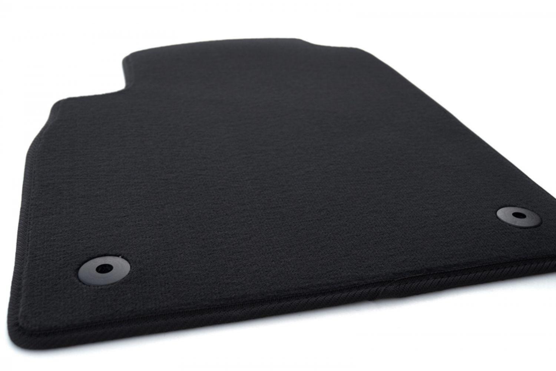 - Schwarz Nadelfilz 4tlg Fußmatten Opel Astra J GTC ab 2012 ohne befestigung