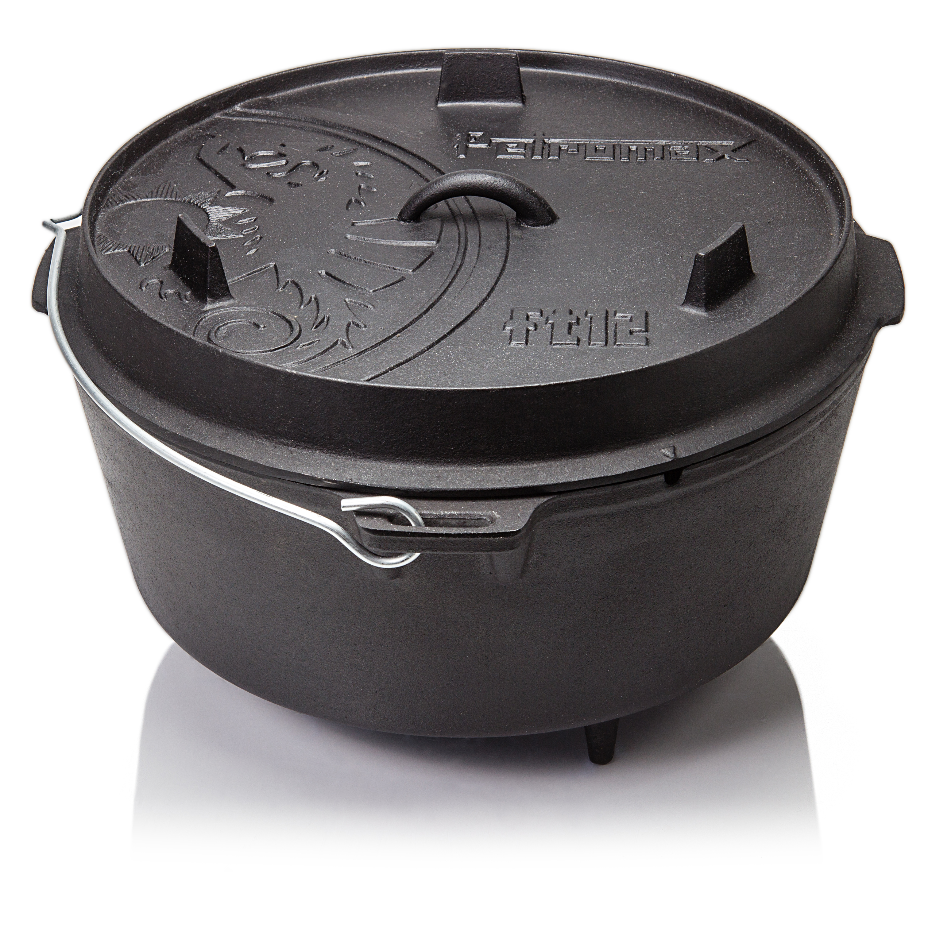 Petromax Kastenform k4 Dutch Oven Gusseisen Feuertopf Brotbackform Kuchen Braten