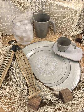 Kaffeebecher Kaffee-Pott Mug Marine Business Harmony Sand