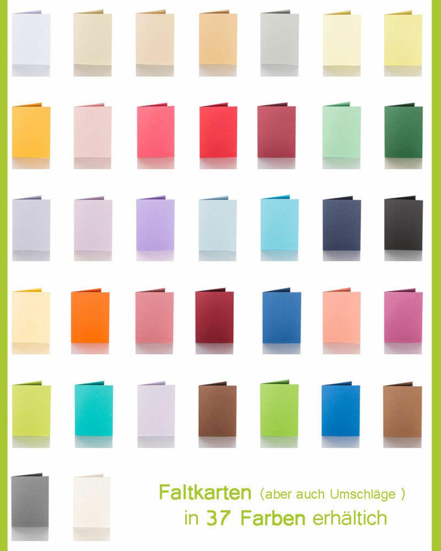 50 Artoz Papier AntiquA Kuverts DIN C6 90g Farben Briefumschläge