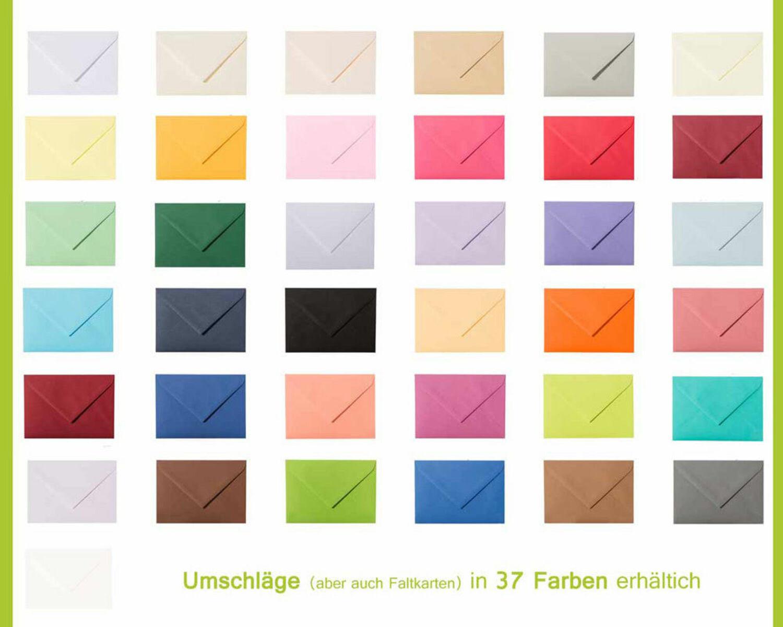10 Quadratische Briefumschläge Transparent C5 162 x 229 mm Blau Haftstreifen