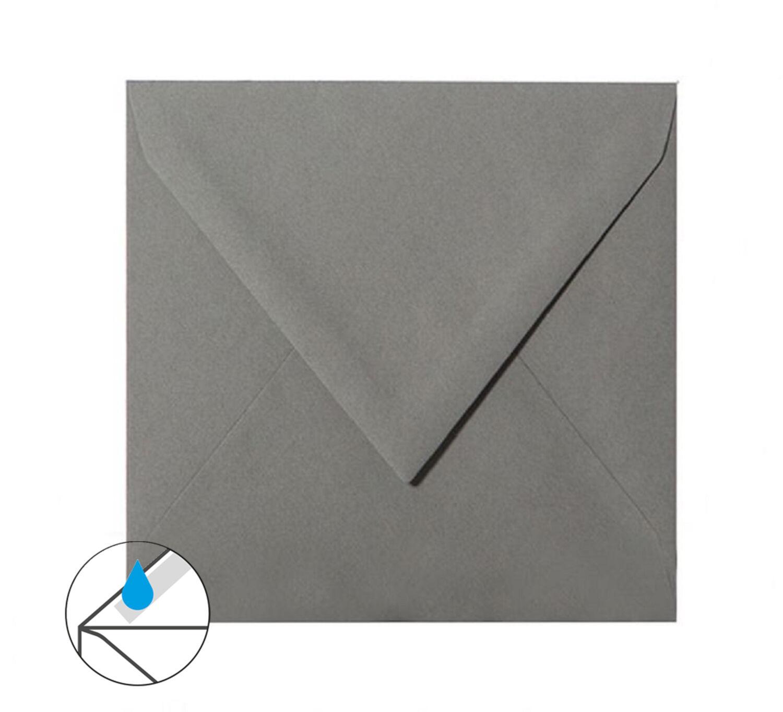 120 g//qm 25 quadratische Briefumschläge 155x155 mm Elfenbein