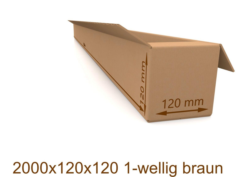 Versandkarton Karton 1-wellig