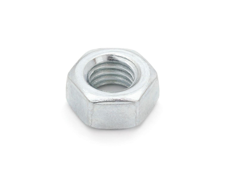 Festigkeit 10 VPE DIN 934 Sechskantmutter Stahl verzinkt