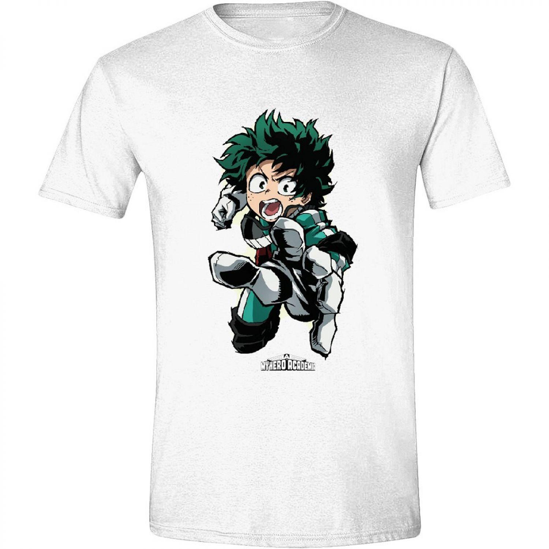 Basic T-shirt Size M-2XL Anime Figur Kurzarm Damen Mode Neu Weiß Sommer Bequem