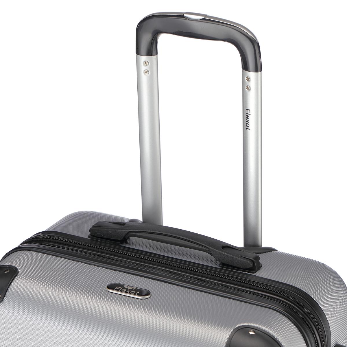 Koffer-Flexot-2045-Hartschalenkoffer-Trolley-Kofferset-Reisekoffer-M-L-XL-Set Indexbild 77