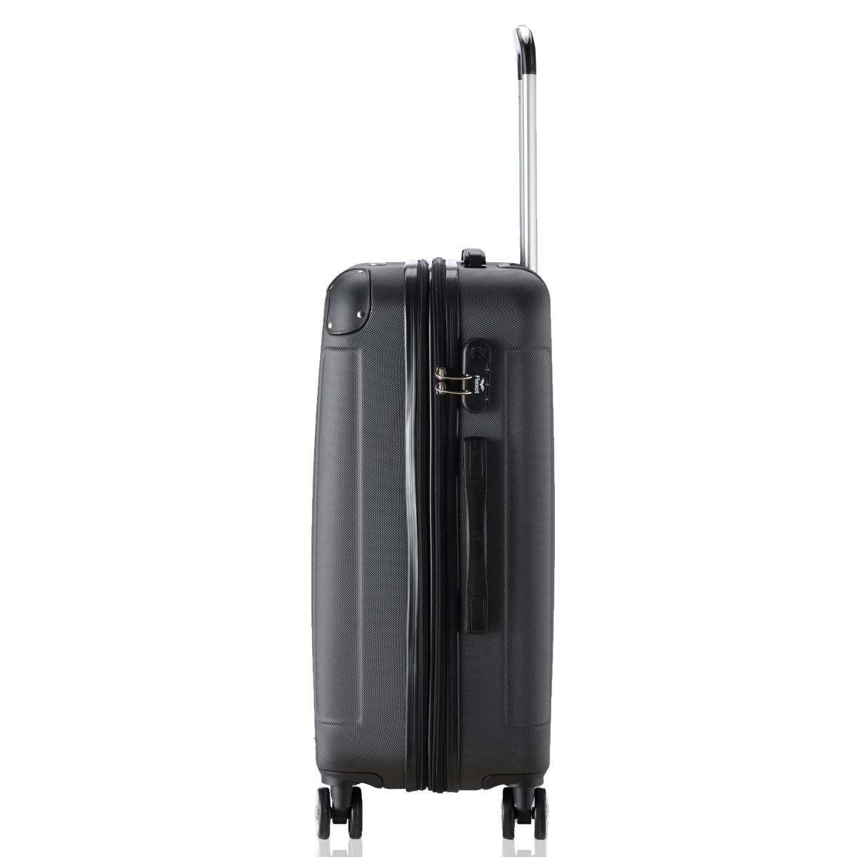 Koffer-Flexot-2045-Hartschalenkoffer-Trolley-Kofferset-Reisekoffer-M-L-XL-Set Indexbild 37