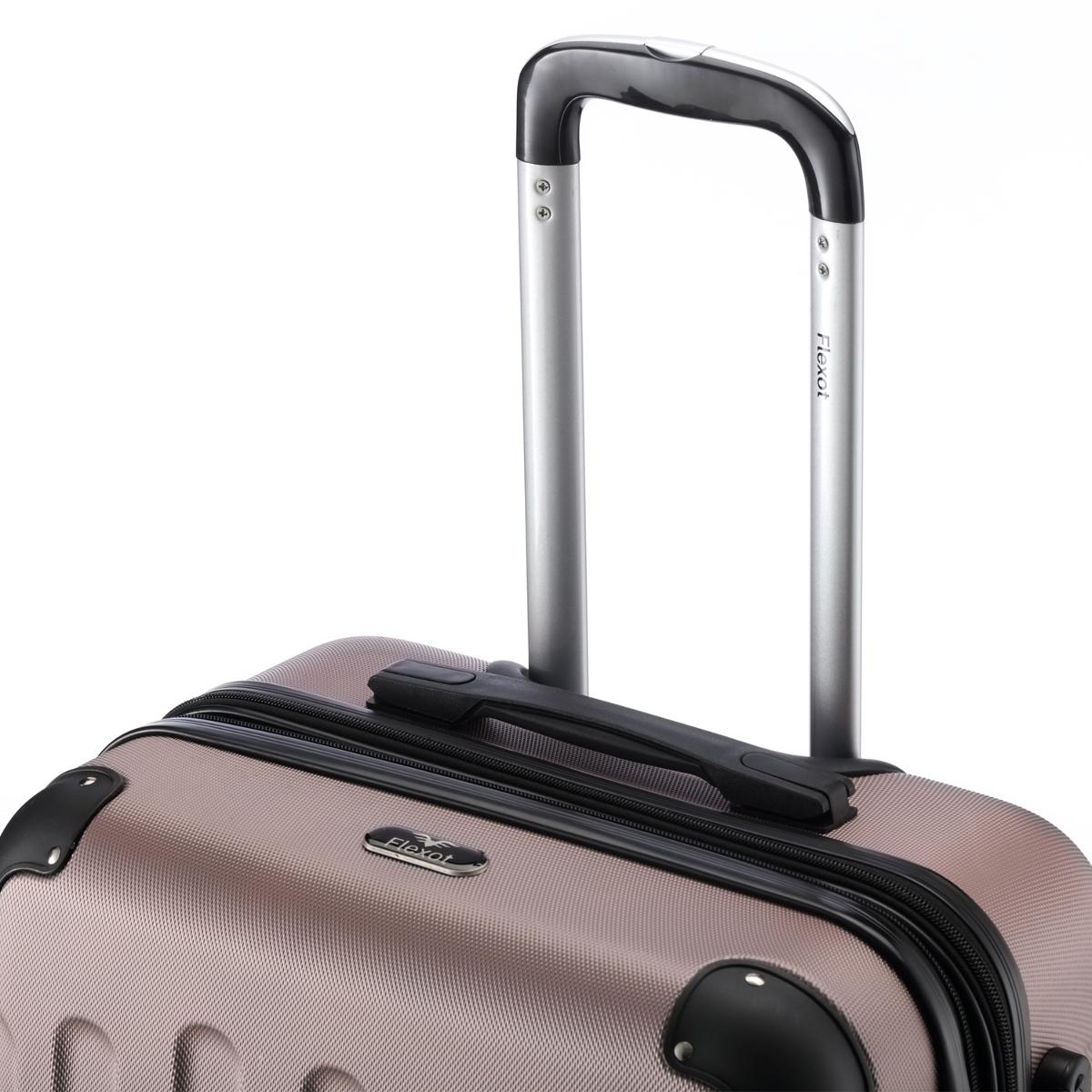 Koffer-Flexot-2045-Hartschalenkoffer-Trolley-Kofferset-Reisekoffer-M-L-XL-Set Indexbild 102